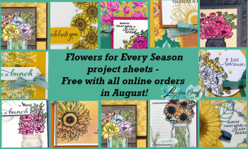 August Flowers for Every Season graphic