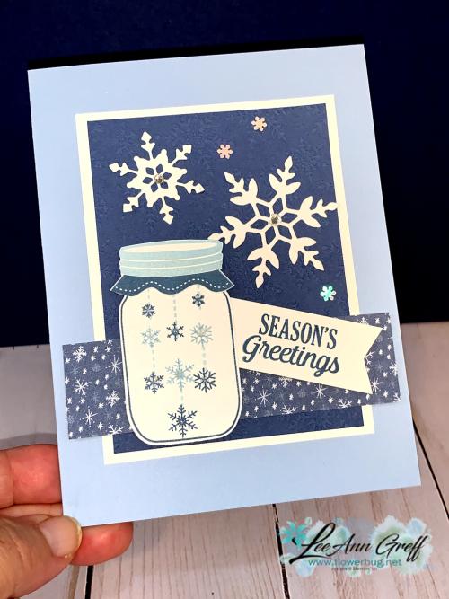 Lots to Celebrate snowflakes