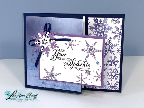 Snowflake Wishes Mystery card