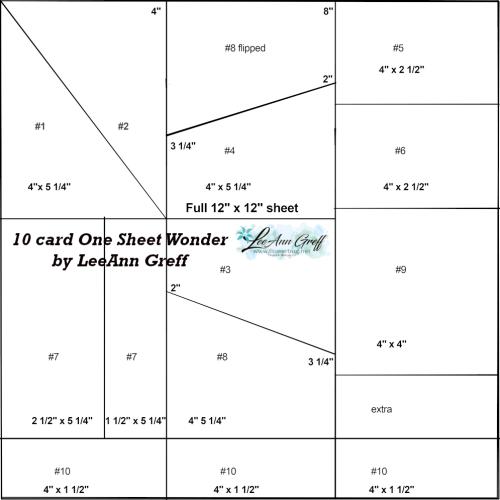 10 card 12x12 wonder