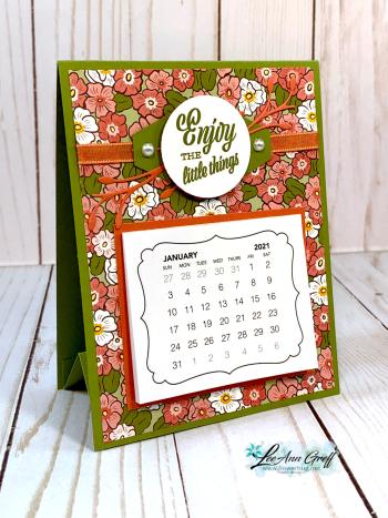 Dec Easel Calendar