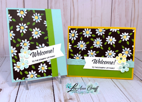 Welcome Cards Field & Flower