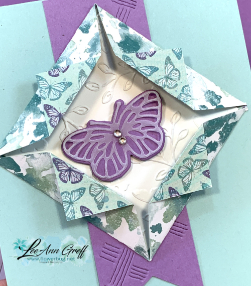 Butterfly square pop up