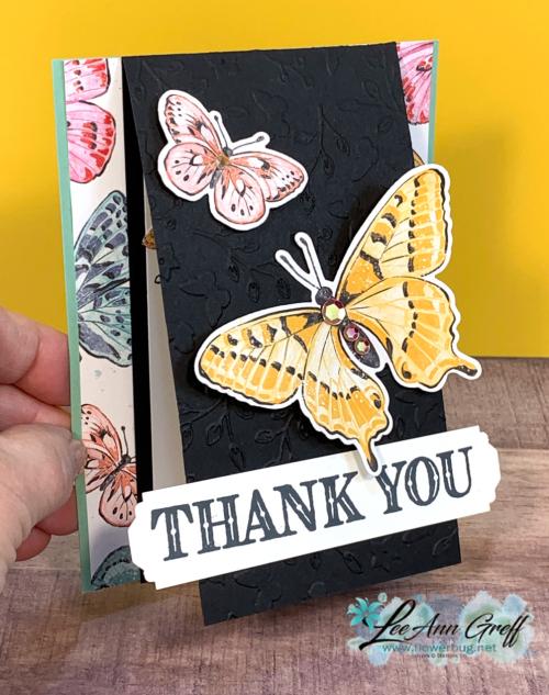 Butterfly Bijou card FB Live