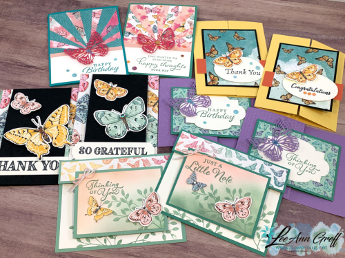 Butterfly Bouquet cards