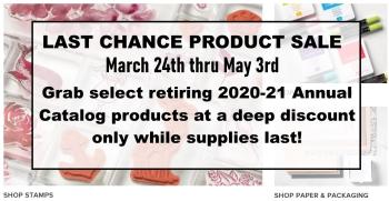 2021 Last chance