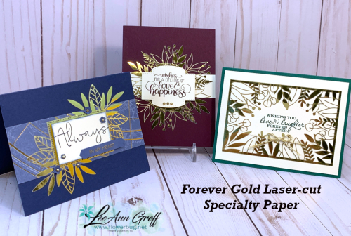 Forever Gold specialty paper