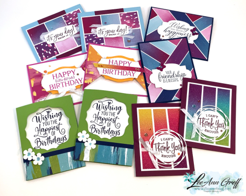 Artistry Blooms cards