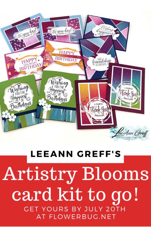 Artistry Blooms kit to go