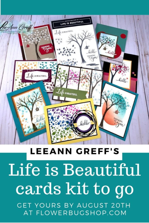 Life is Beautiful class kit graphic