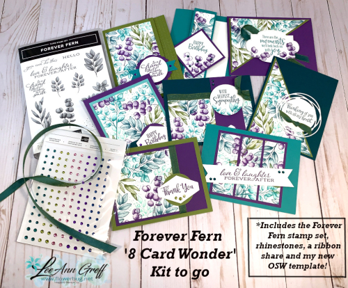 Forever Fern kit contents