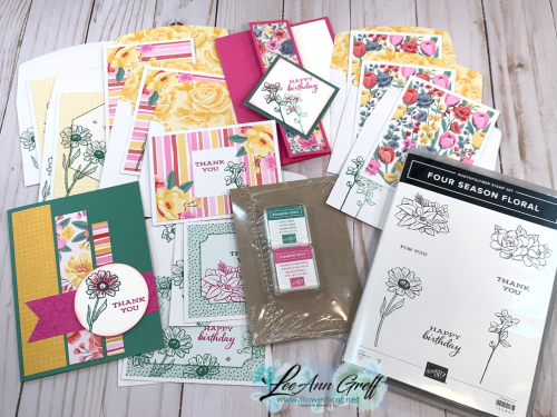 Four Seasons Floral kit
