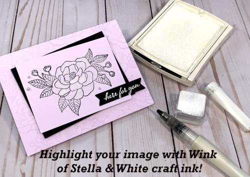 Wink of Stella & White craft ink