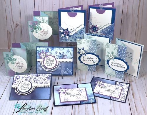 Snowflake Splendor cards