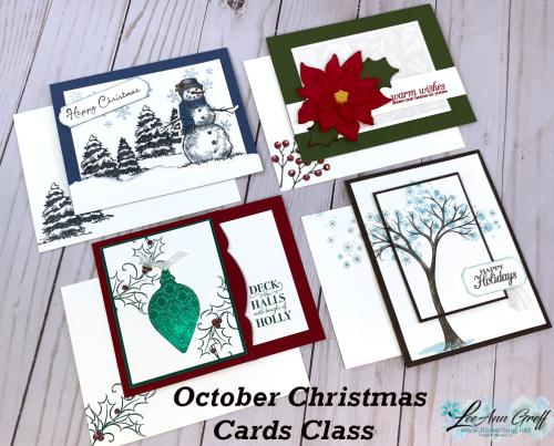 Christmas cards class 4