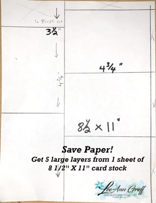 Template save card stock.
