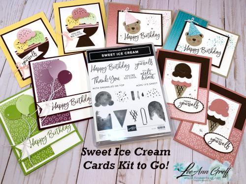 Sweet Ice Cream cards