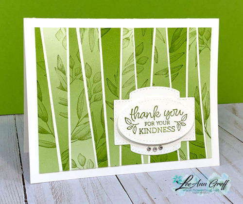 Ombre Forever Fern card