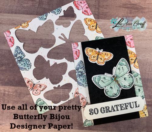 Butterfly Bijou paper