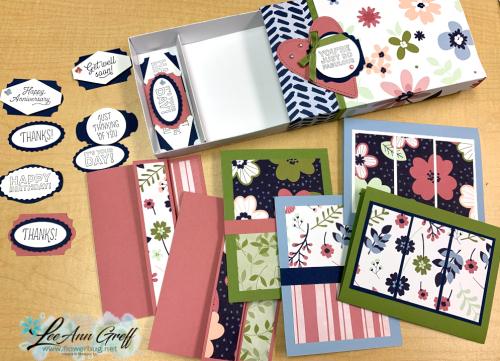 Mix & Match box Paper Blooms.