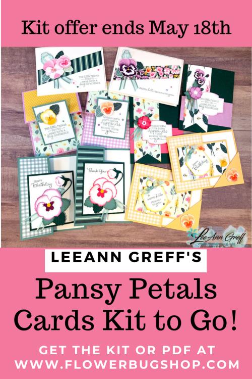 Pansy Petals kit