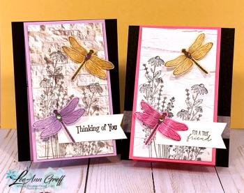 Dragonfly Garden Pink