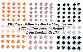 Free Star sequins in August