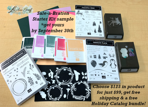 Sale-a-Bration starter kit