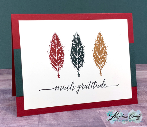 Gorgeous Leaves trio