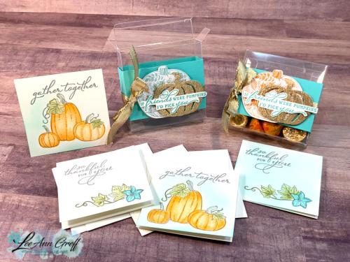 Pretty Pumpkins card box.