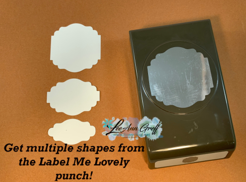 Label Me Lovely punch shapes 1