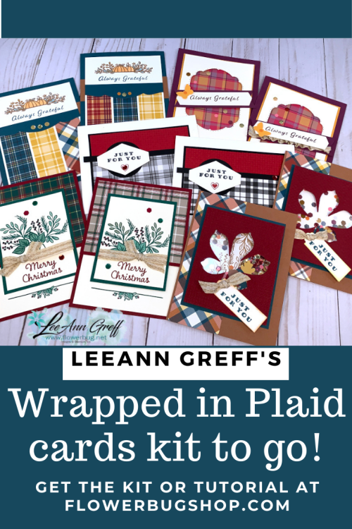 Plaid Tidings Cards kit to go  (7)