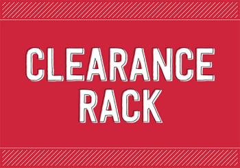Clearance rack December