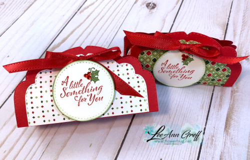 Celebration Label treat boxes