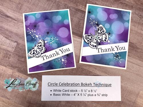 Circle Celebration Bokeh tech