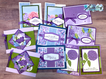 Hydrangea cards all