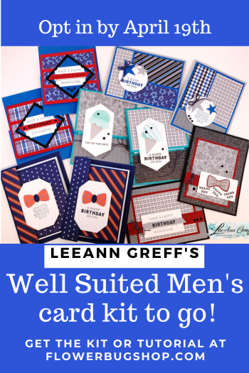 Well Suited cards kit