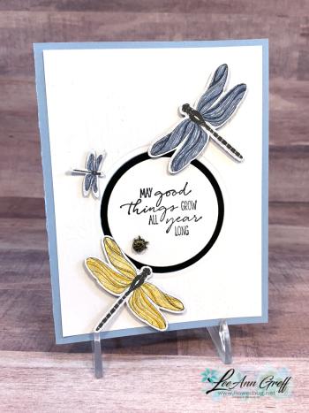 Dragonfly window card