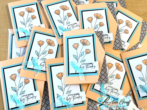 Flowers of Friendship swap cards