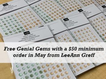 May genial gems