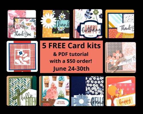 Free Card kits June 2021