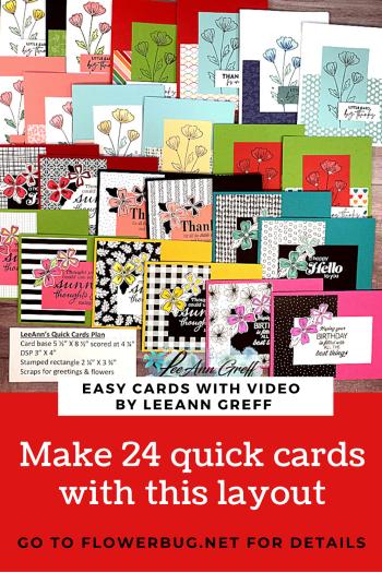 24 Quick Cards plan