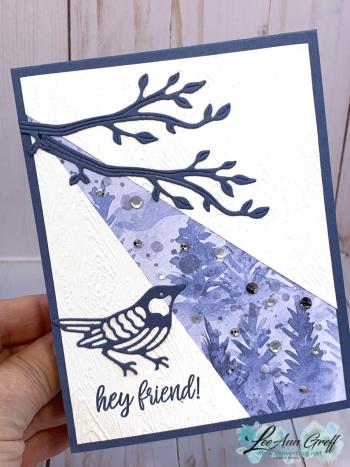 Split Front card Iconic dies