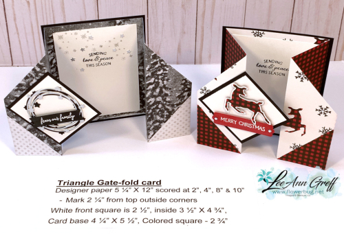 Triangle gate fold both