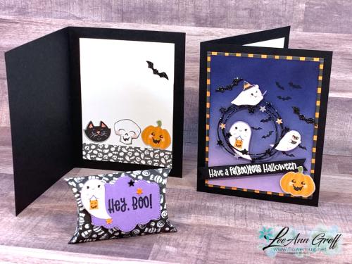 Cute Halloween card live .
