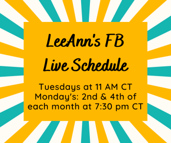 FB Live Schedule