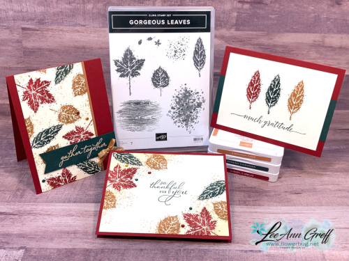 Gorgeous Leaves simple stamping