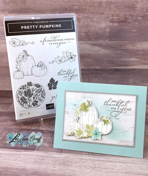 Pretty Pumpkins card