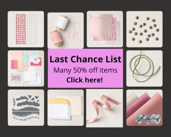 Last Chance Spring List graphic