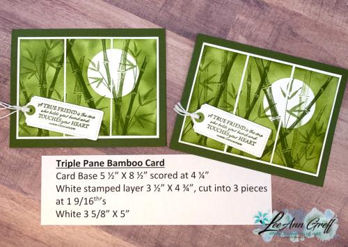 Bamboo Beauty olive